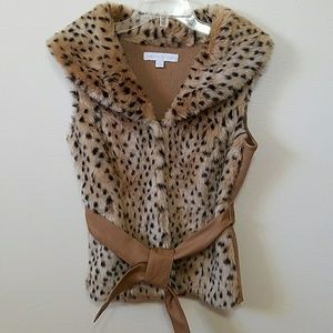 NY & CO Faux fur vest
